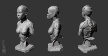 Zbrush model