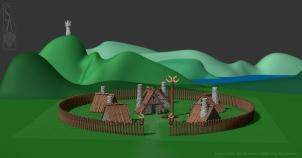 Viking village.