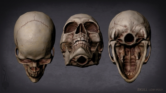 Skull top and Bottom angles